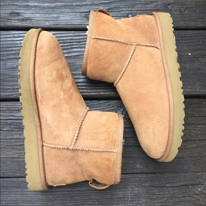 UGG Australia Mini Chestnut